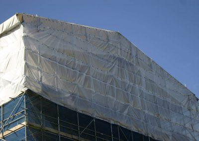 Haki Scaffolding Temporary Roof