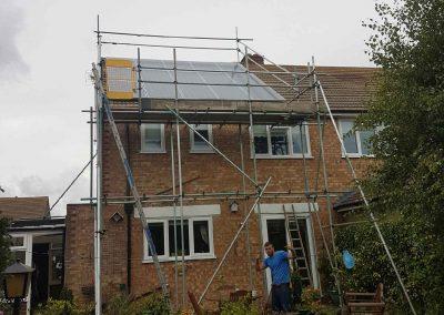 Solar Scaffolding 1 by Hercules Scaffolding